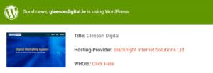 Wordpress website checker