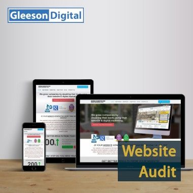 website audit gleeson digital