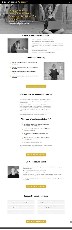 website design mullingar for a website with a membership area