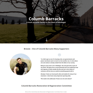 website design mullingar brochure website